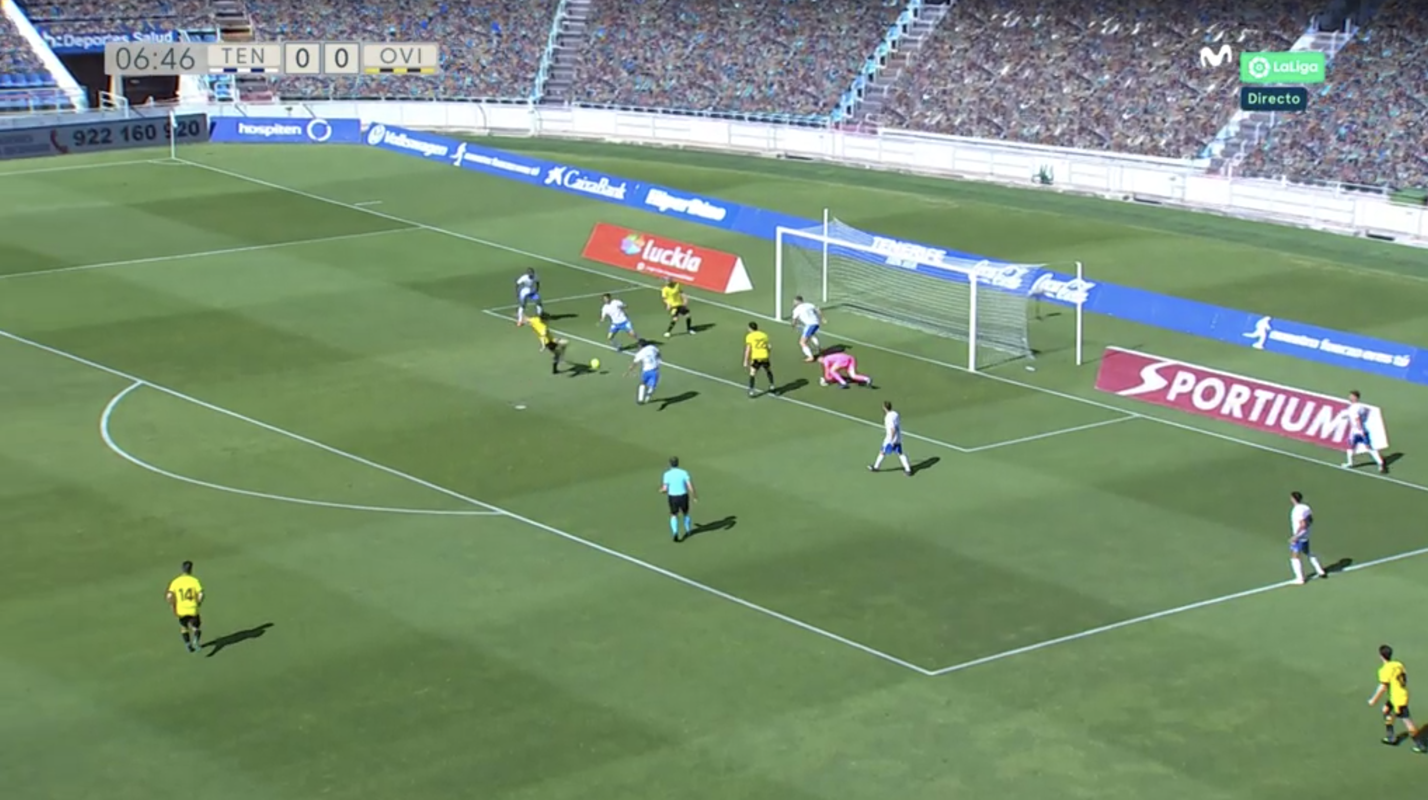 ANÁLISIS del CD Tenerife 2-2 R. Oviedo