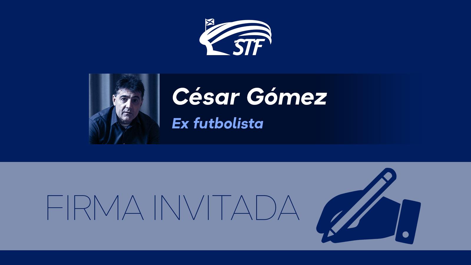 """César Gómez. """"Que no cunda el pánico"""""""