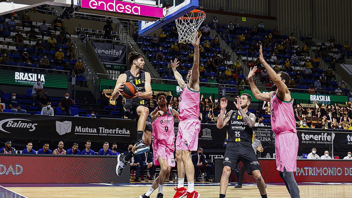 """Crónica del Lenovo Tenerife- FC Barcelona Basket: """"Nunca des por muerto al Canarias"""""""