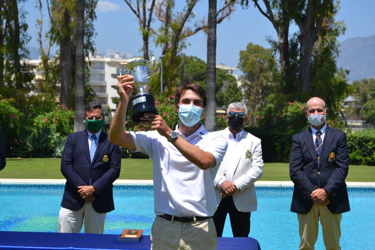 El tinerfeño Álvaro Hernández, campeón de España Absoluto Masculino de golf