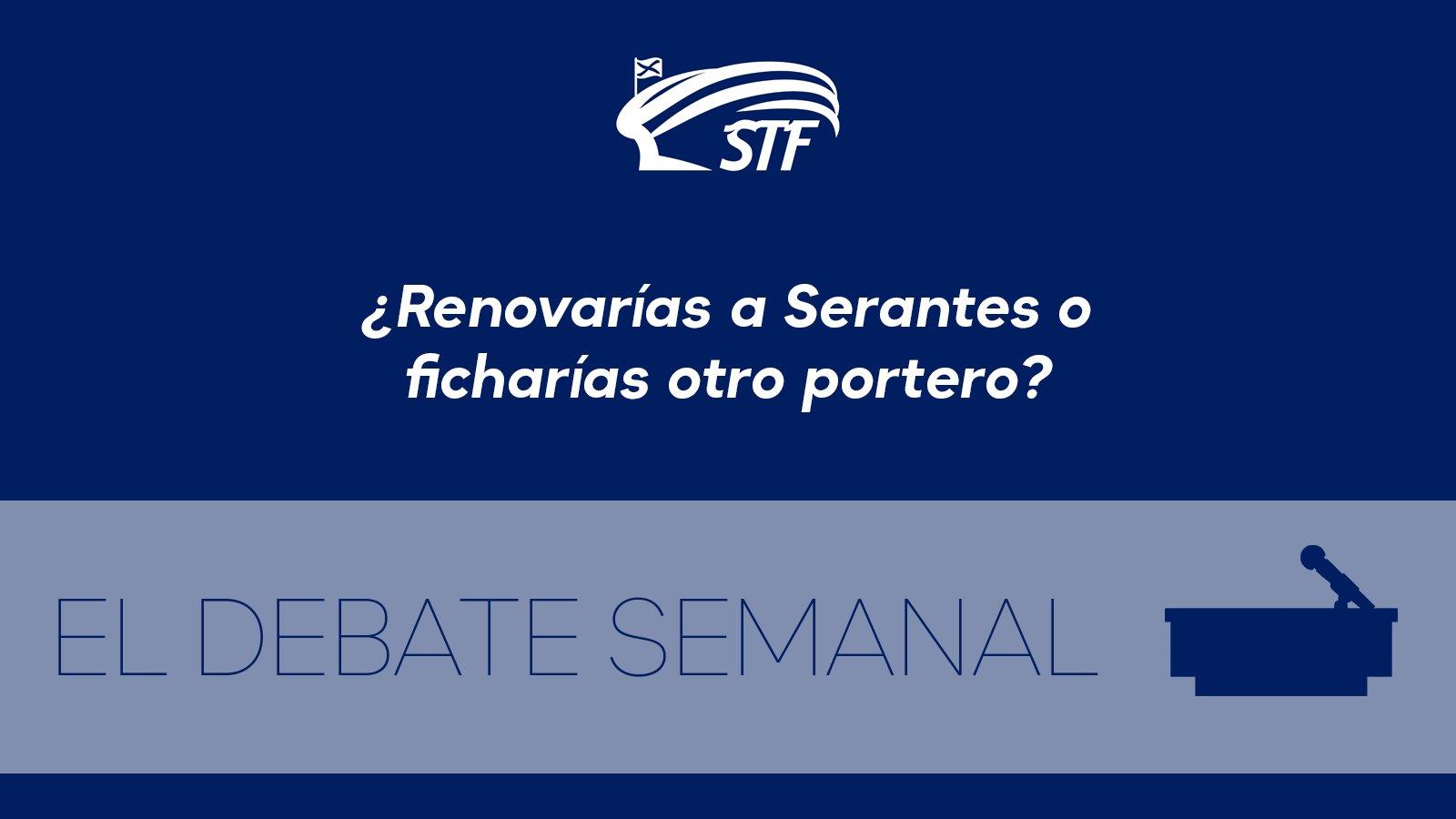 El Debate Semanal: ¿Renovarías a Serantes con el CD Tenerife o ficharías otro portero? El 75'9% dice sí a renovarlo