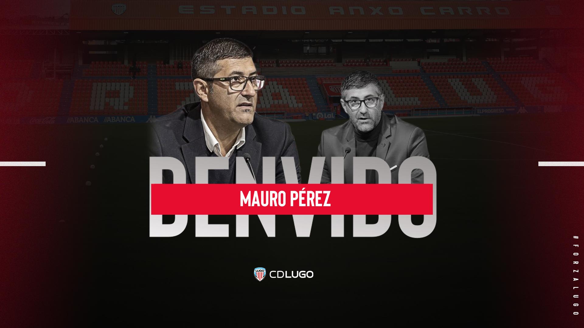 El tinerfeño Mauro Pérez, nuevo director deportivo del CD Lugo