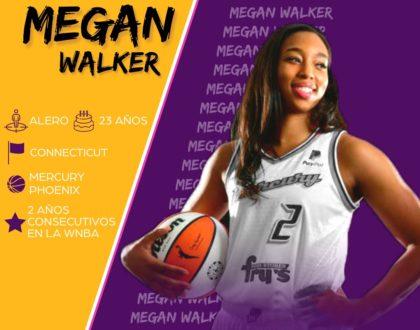 La norteamericana Megan Walker, quinto fichaje del CB Clarinos para la 21-22