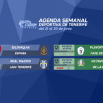 Agenda Semanal Deportiva de Tenerife (21 al 30 de junio)