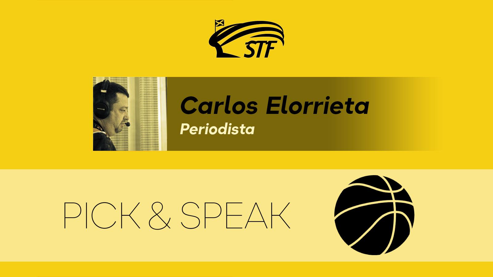 """Carlos Elorrieta. """"Elegidos para la historia"""""""