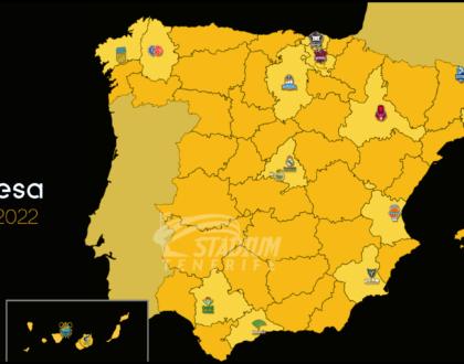Los 17 equipos que serán rivales del CB Canarias en la temporada 2021-2022