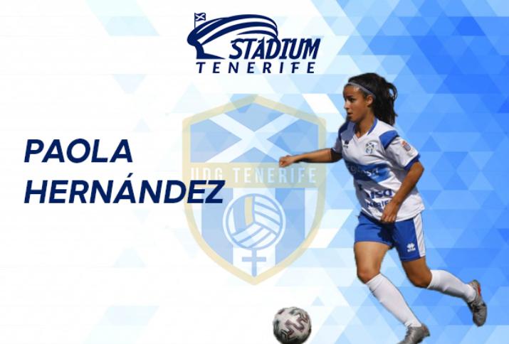 """ENTREVISTA. PAOLA HERNÁNDEZ: """"Me siento muy afortunada por representar a la UDG Tenerife"""""""