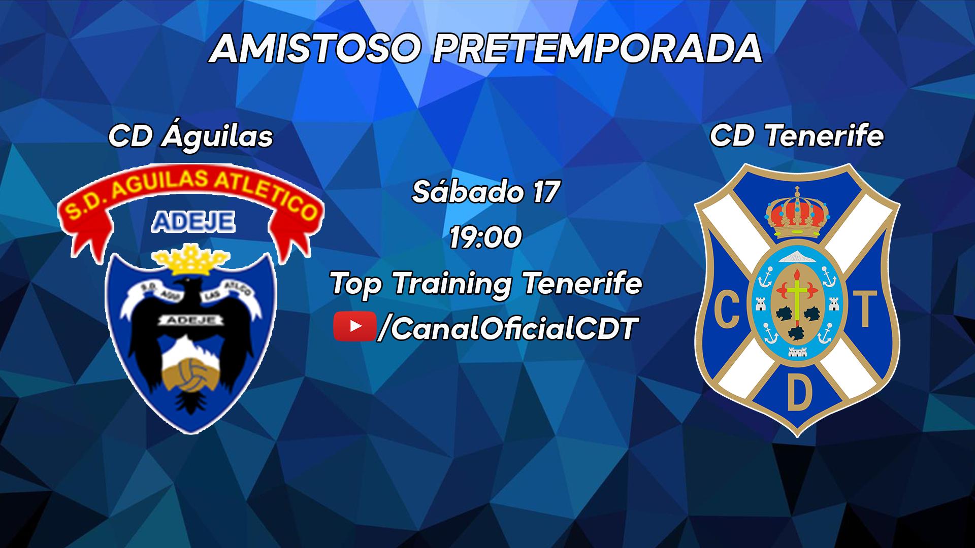 El CD Tenerife arranca la pretemporada visitando al CD Águilas