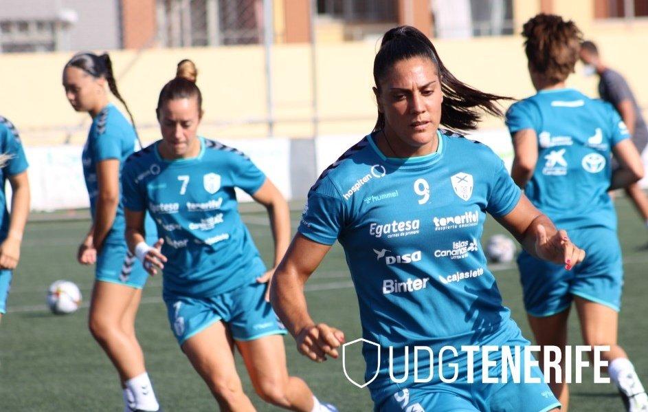 La UDG Tenerife vuelve a los entrenamientos
