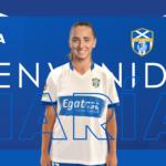 María Ortiz firma por la UDG Tenerife
