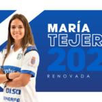 La grancanaria María Tejera renueva con la UDG Tenerife