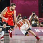 Sergio Rodríguez participa en el debut con victoria de España en Tokio