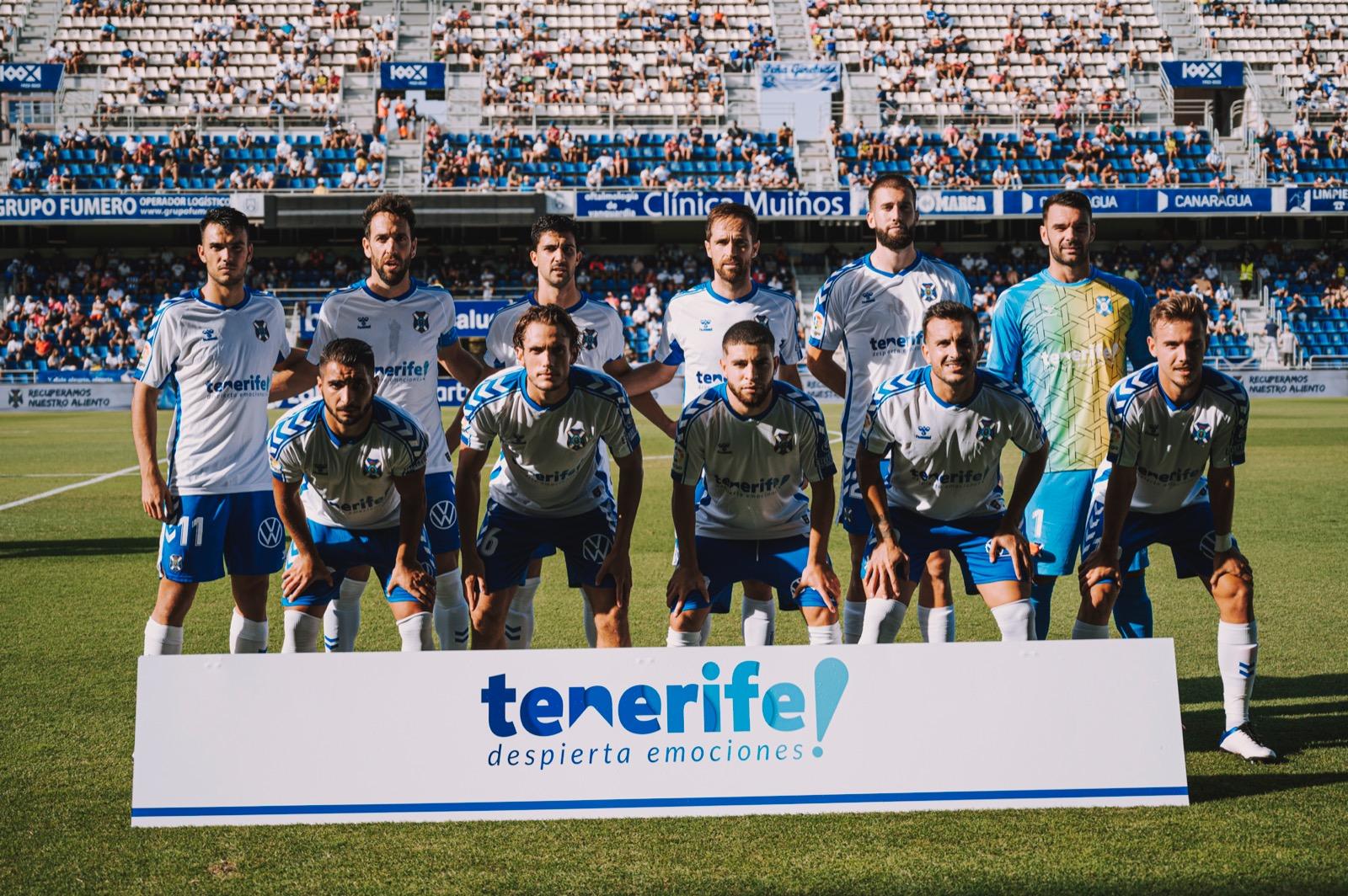 4 de 6: el mejor arranque del CD Tenerife desde 2017