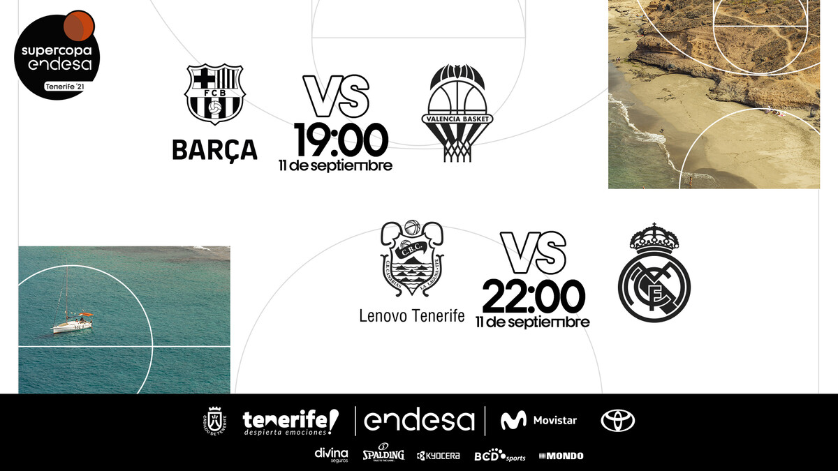 La Supercopa Endesa 2021 se disputa en Tenerife este fin de semana