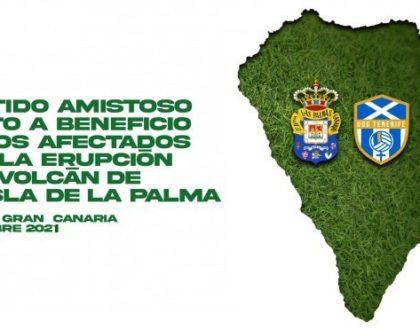 El UDG Tenerife y la UD Las Palmas disputarán un amistoso mixto a beneficio de los afectados por la erupción de La Palma