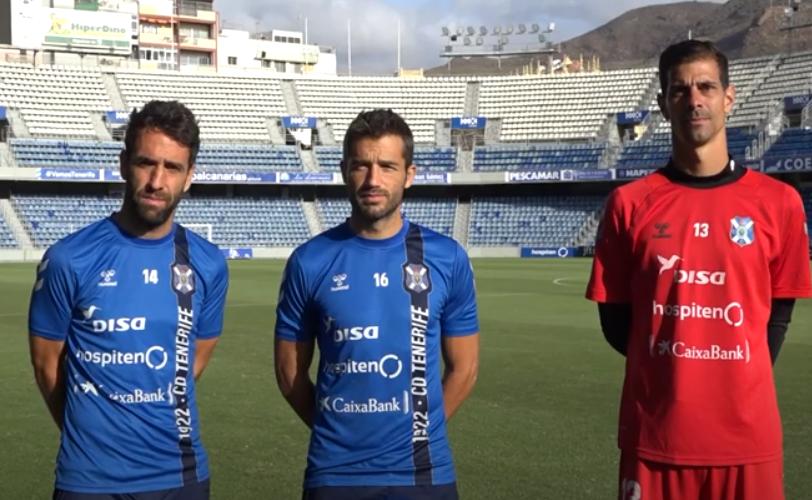 VÍDEO | El CD Tenerife manda un mensaje de apoyo a la isla de La Palma