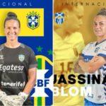 Las guerreras Aline y Blom participarán con sus selecciones en la primera fecha FIFA de la temporada