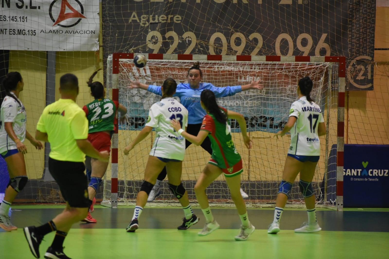 Dura derrota en casa del Salud Tenerife