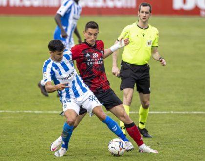 El navarro Galech Apezteguía, árbitro del Tenerife-Eibar de hoy martes