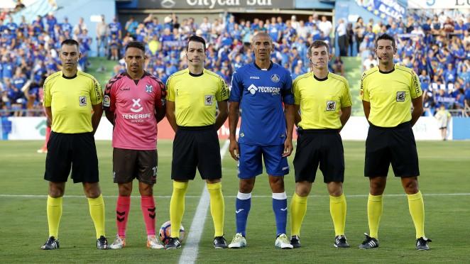 El navarro Prieto Iglesias, árbitro del derbi Las Palmas-Tenerife de este sábado