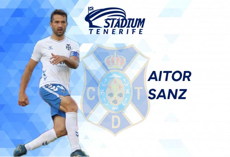 "ENTREVISTA. AITOR SANZ: ""Es un orgullo ser el capitán del CD Tenerife"""