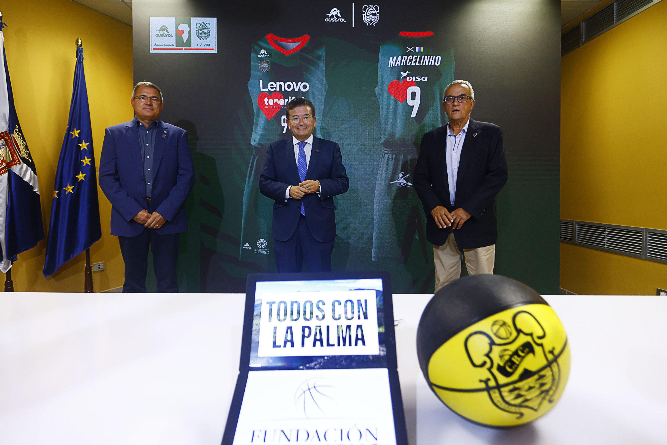 La Fundación CB Canarias, la Fundación 'La Caixa' y Caixabank se vuelcan con La Palma