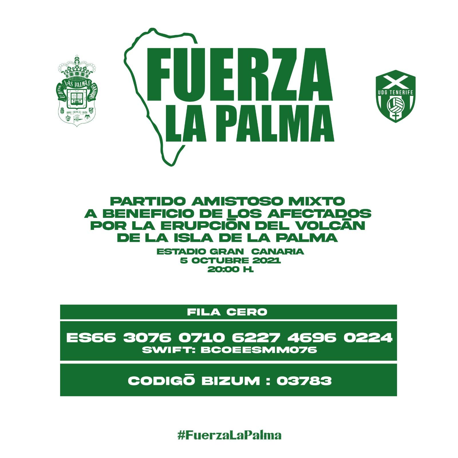 El partido más especial por y para La Palma