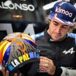Fernando Alonso se compromete con la isla de La Palma