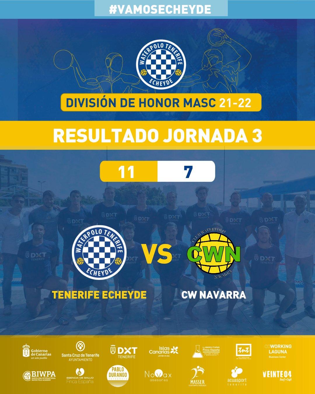 El Tenerife Echeyde logra su segunda victoria consecutiva