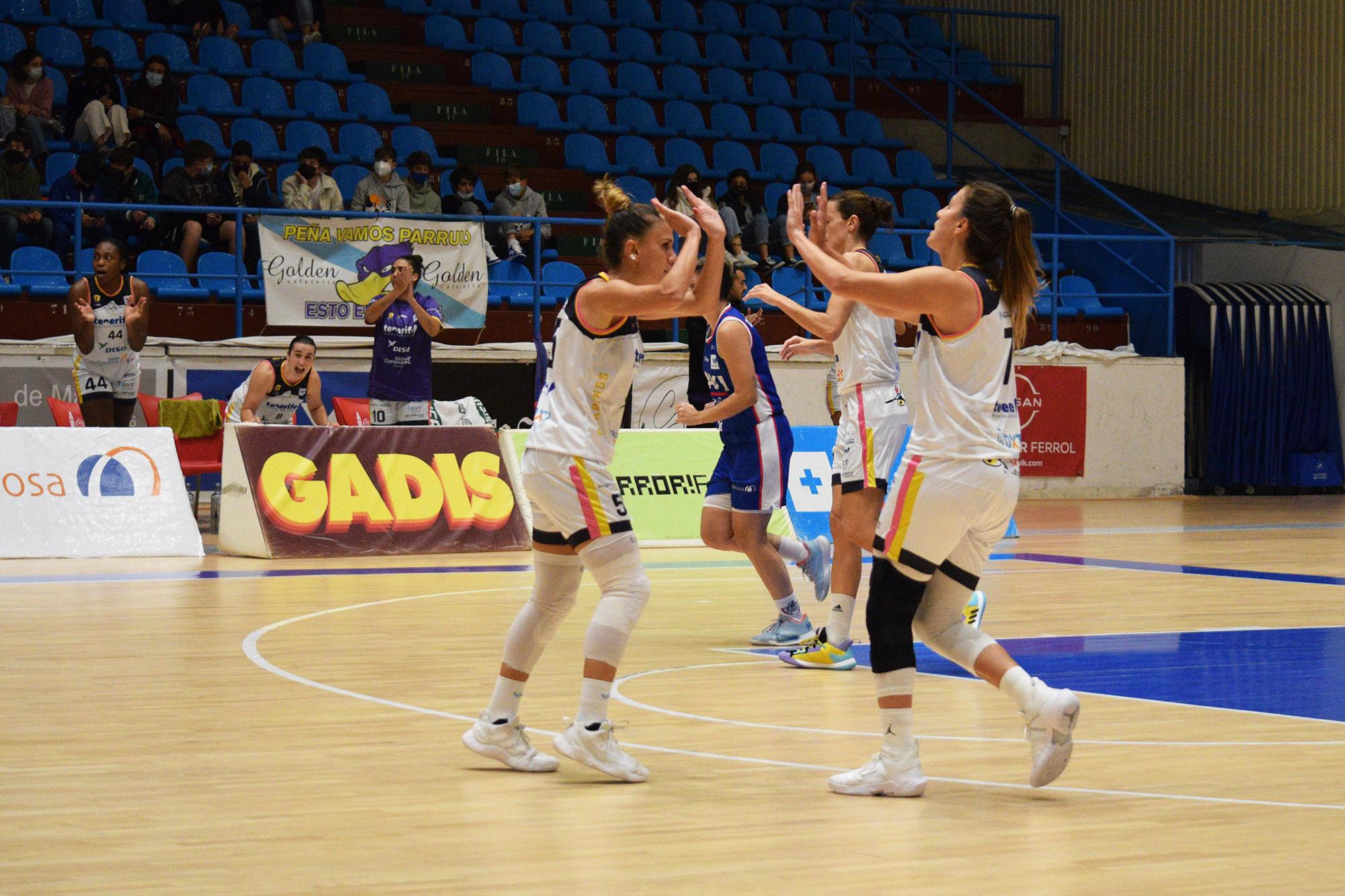 Tenerife suma su primera victoria a domicilio