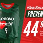 Lenovo Tenerife activa la preventa de la camiseta solidaria