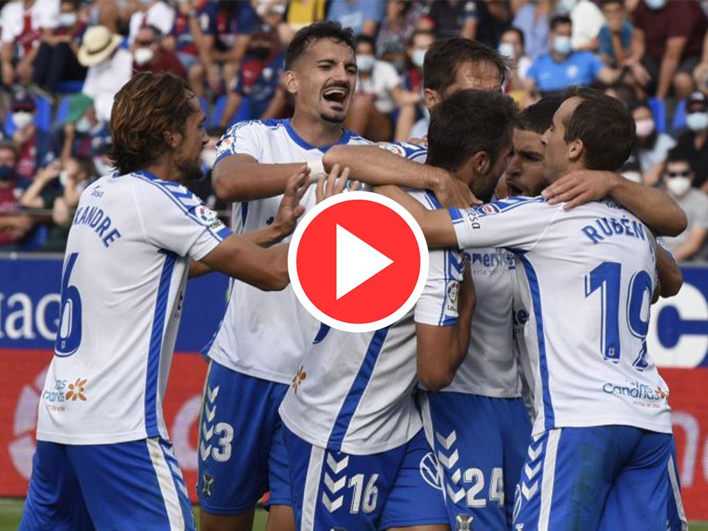 VÍDEO | Resumen del SD Huesca vs CD Tenerife (1-2)
