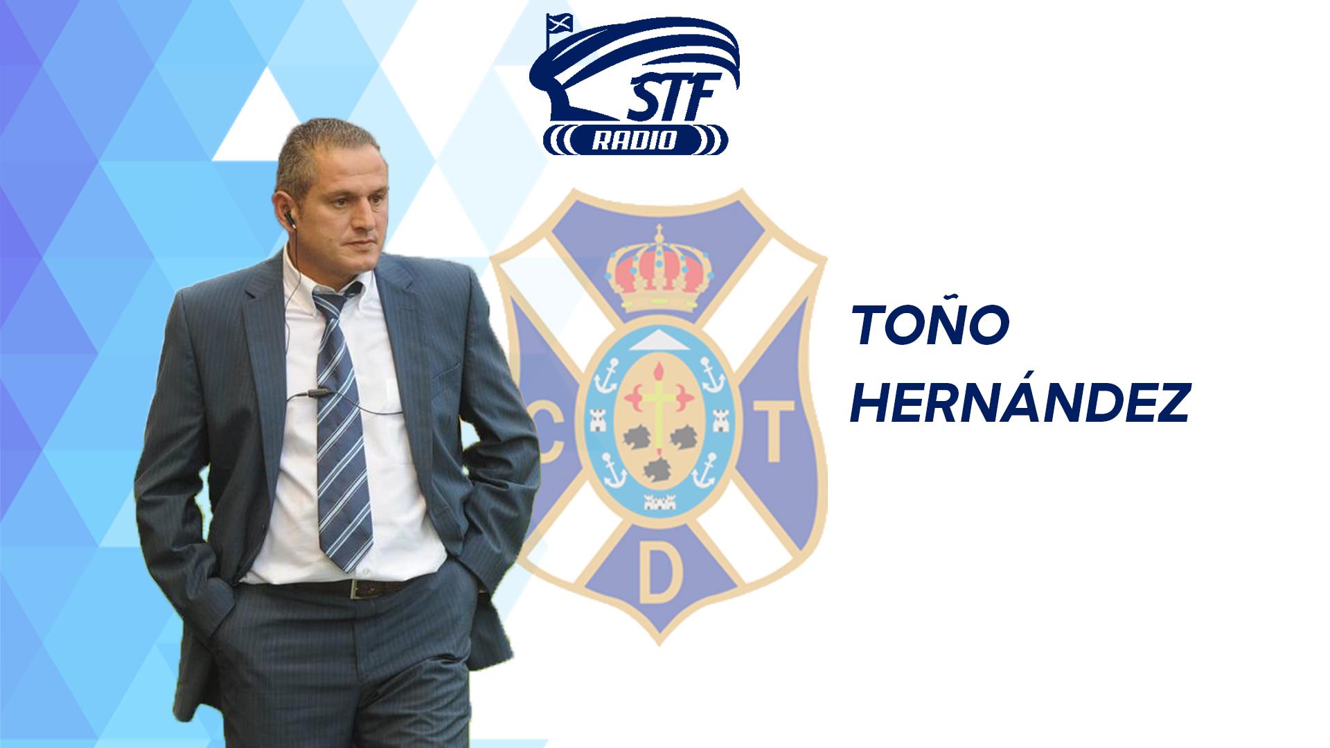 """Toño Hernández en STF Radio: """"En este tipo de partidos uno se siente futbolista de verdad"""""""